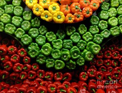 Photograph - Peppers Wave by Haleh Mahbod
