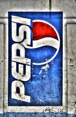 Pepsi Ala Puebla Art Print by Craig T Burgwardt