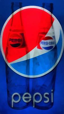 Thirst Painting - Pepsi Cola by Dan Sproul
