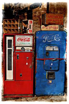 Pepsi Vs Coke Art Print