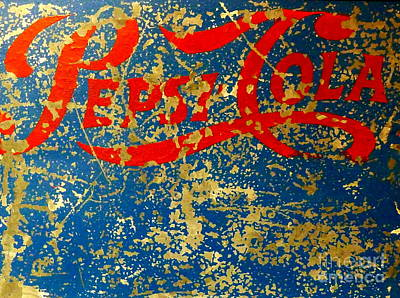 Pepsi Art Print by Newel Hunter