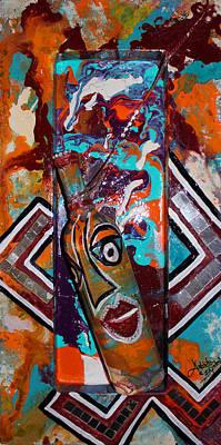 Mixed Media - Perception 1 by Artista Elisabet