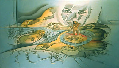 Painting - Perception 2005 by Glenn Bautista