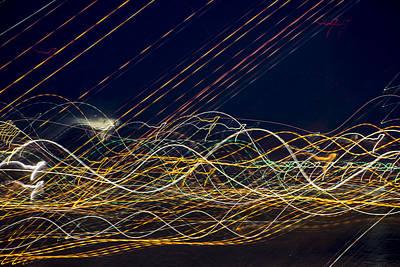 Light Paint Photograph - Perception by Shannon Workman