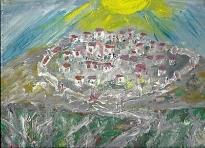 Perched Village Original