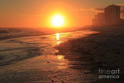 Photograph - Perdido Key Sunburst by Adam Jewell