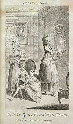 Perdita Dolly Art Print by British Library