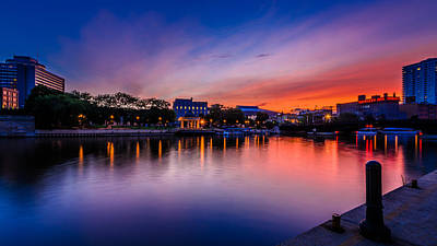 Lovely Lavender - Pere Marquette Park by Randy Scherkenbach