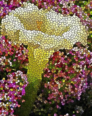 Perennial Moonflower Art Print by Chris Berry
