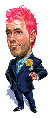 Caricature Painting - Perez Hilton by Art