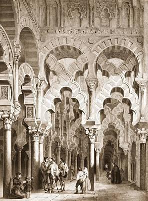Al Andalus Photograph - Perez Villaamil, Jenaro 1807-1854 by Everett
