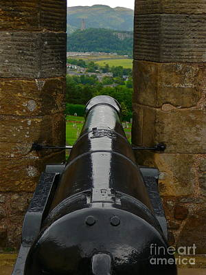 Civil War Cannon Balls Photograph - Perfect Aim by Scott Henry