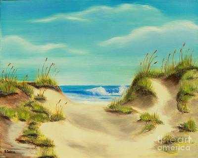 Painting - Perfect Beach Day by Bev Conover