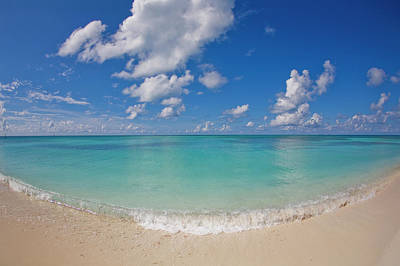 Tortuga Beach Photograph - Perfect Beach Day With Blue Skies by Mike Theiss