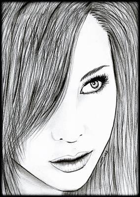 Perfect Beauty Art Print by Saki Art