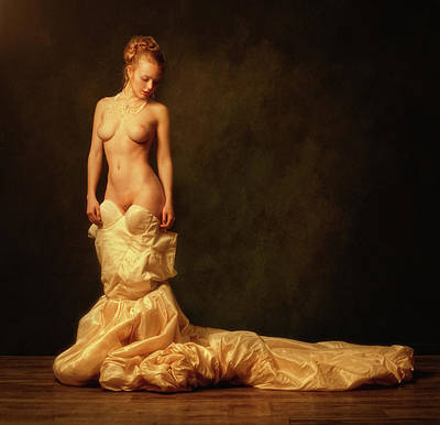 Nude Photograph - Perfect Bride by Zachar Rise