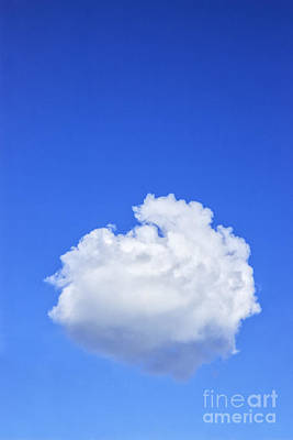 Perfect Cloud Art Print