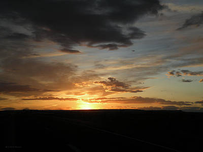 Photograph - Perfect Desert Sunset New Mexico by Becky Erickson