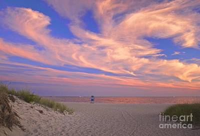 Photograph - Perfect Ending To Summer On Cape Cod by Amazing Jules