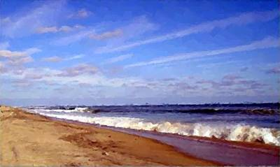 Digital Art - Perfect Hatteras  by Cheryl Waugh Whitney