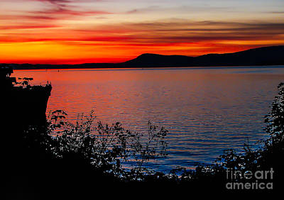 Photograph - Perfect Marine Sunset by Robert Bales