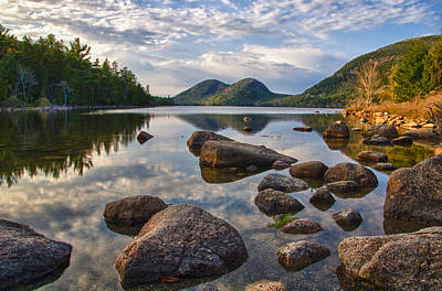 Maine Landscape Photograph - Perfect Pond by Kristopher Schoenleber