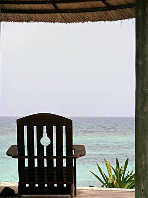 Caribbean Photograph - Perfect Resting Spot by Kimberly Perry
