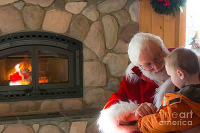 Photograph - Perfect Santa by Cheryl Baxter