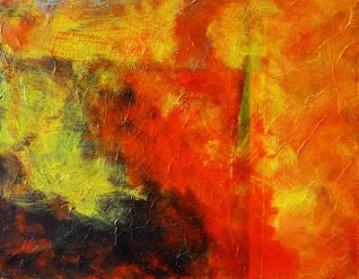 Perfect Storm Original by Nancy Merkle