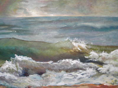 Painting - Perfect Storm by Sheila Holland