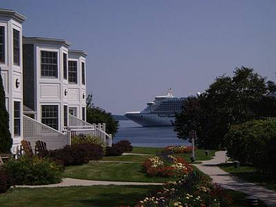 Photograph - Perfect Vacation In Bar Harbor by Charlayne Grenci