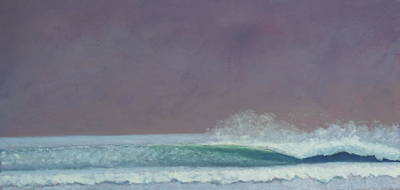 Perfect Wave Art Print by Kent Pace