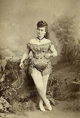 Photograph - Performer, C1880 by Granger