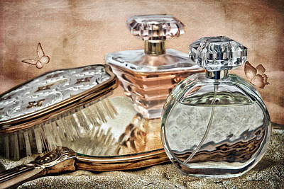 Cut Photograph - Perfume Bottle Ix by Tom Mc Nemar