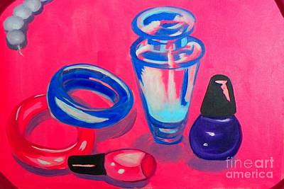 Painting - Perfume by Marisela Mungia