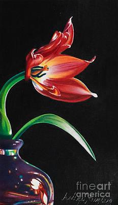 Perfumed Brilliance Art Print by Arlene Steinberg