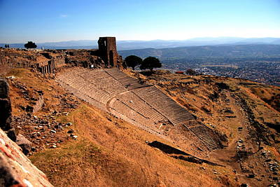 Photograph - Pergamum - Theatre by Jacqueline M Lewis