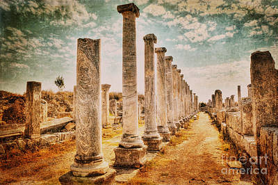 Perge's Road Art Print by Emily Kay