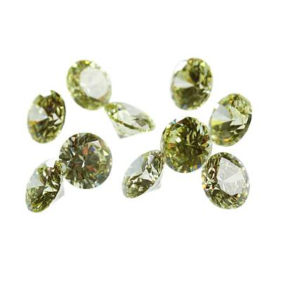 Silicate Photograph - Peridot Gemstones by Science Photo Library