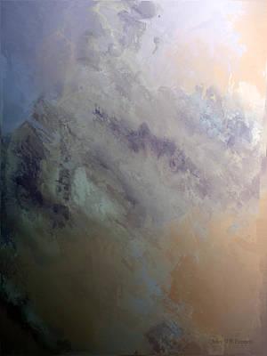 Painting - perilous realm IX by John WR Emmett