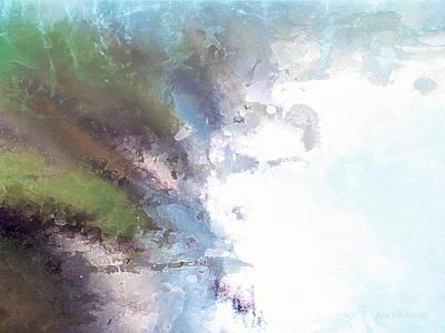 Painting - perilous realm XVI by John WR Emmett