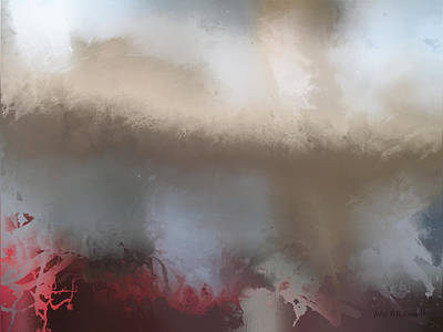 Painting - perilous realm XVIII by John WR Emmett