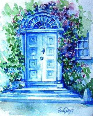 Period Doorway Altamont Gardens Original by Trudi Doyle