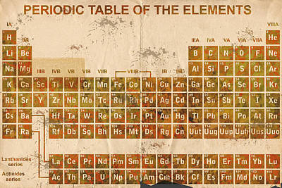 Digital Art - Periodic Table Of The Elements 2 by Paulette B Wright