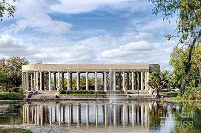 Photograph - Peristyle In City Park New Orleans by Kathleen K Parker