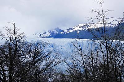 Photograph - Perito Moreno Glacial Landscape by Michele Burgess