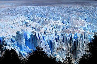 Glacier Photograph - Perito Moreno Glacier by Arie Arik Chen