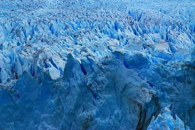 Andean Photograph - Perito Moreno Glacier by FireFlux Studios