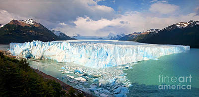 Photograph - Perito Moreno Glacier by JR Photography