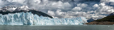 Photograph - Perito Moreno Glacier Off The South by Alvis Upitis